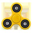 Personnalisation de hand spinner jaune